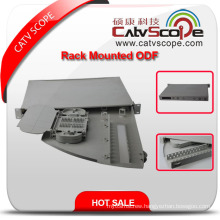 High Quality ODF-4 Optical Fiber Cable Rack Mounting Distribution Box/ODF